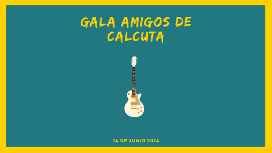 Gala Amigos de Calcuta 2014