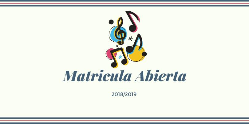 matricula 2018/19