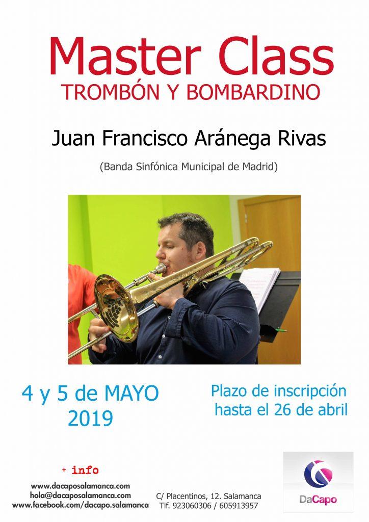 MasterClass Trombon y Bombardino 2019